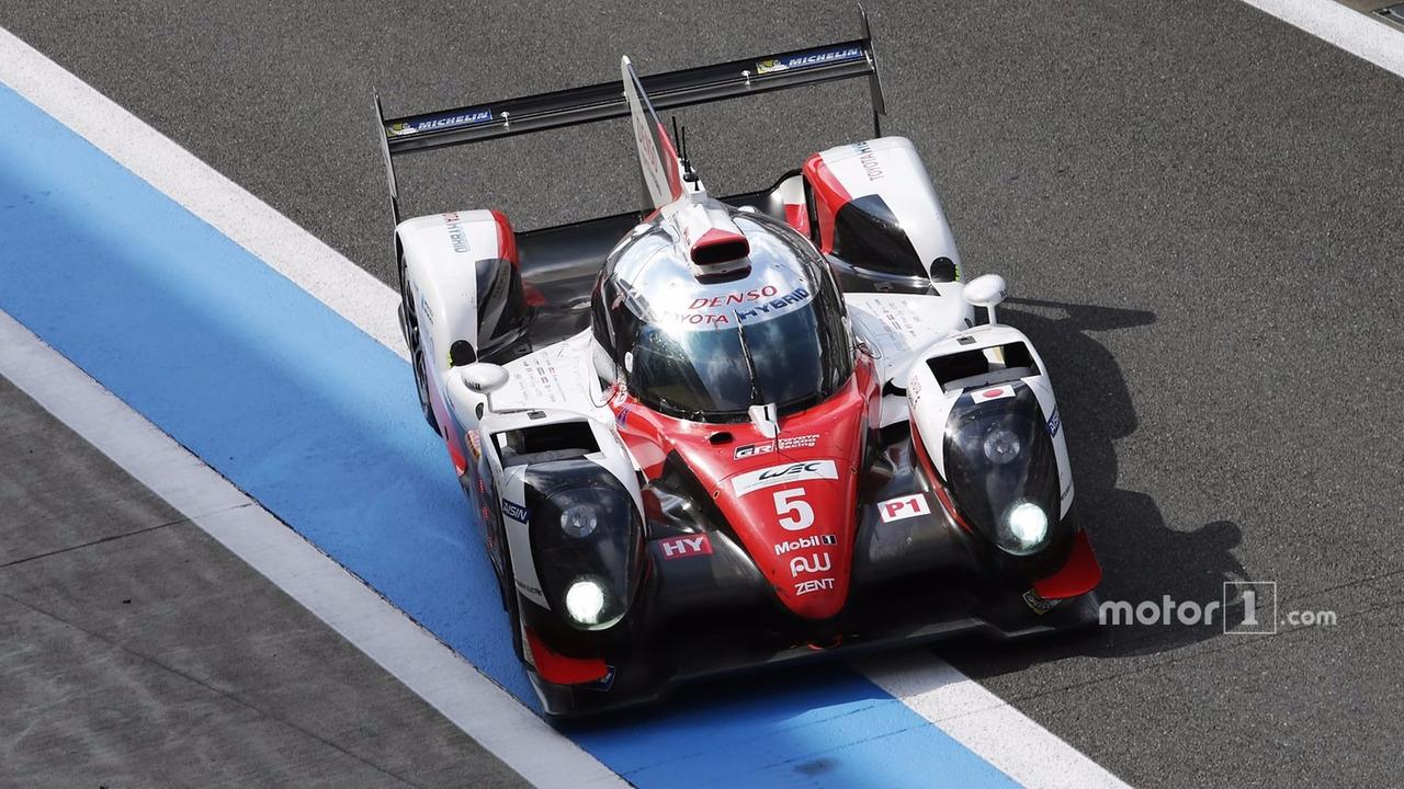 #5 Toyota Racing Toyota TS050 Hybrid- Sébastien Buemi, Kazuki Nakajima, Anthony Davidson