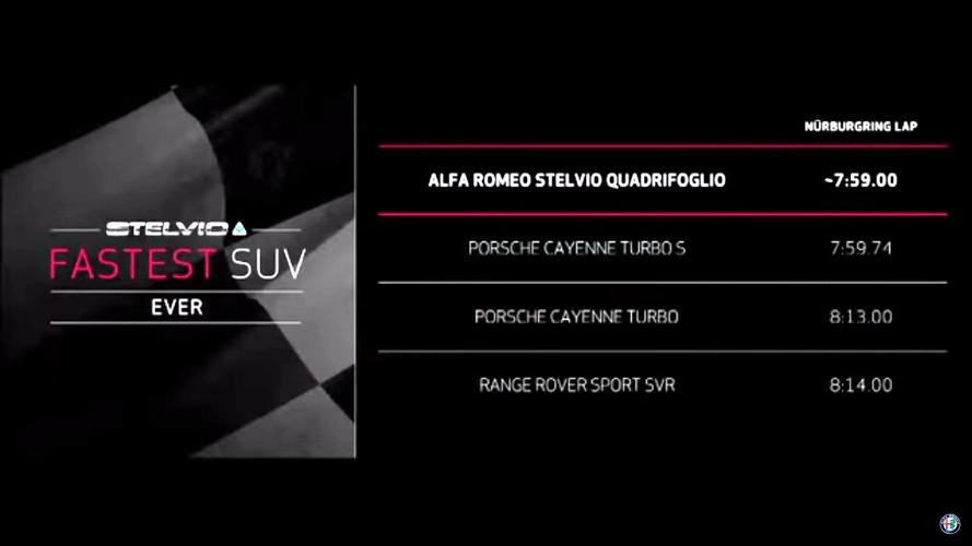 Alfa Romeo Stelvio QV Nuburgring record