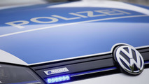 Volkswagen e-Golf police car