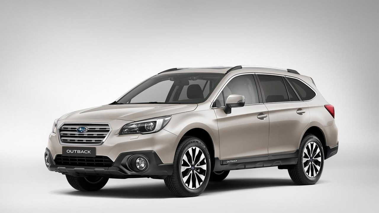 Subaru Outback (Euro-spec)