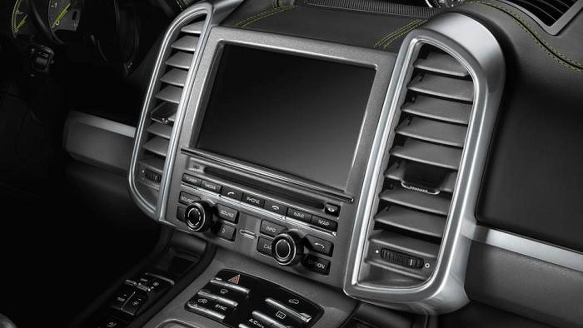 Мультимедийная система Porsche Cayenne S E-Hybrid