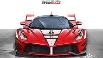 Ferrari LaFerrari rendering / Daniele Pelligra