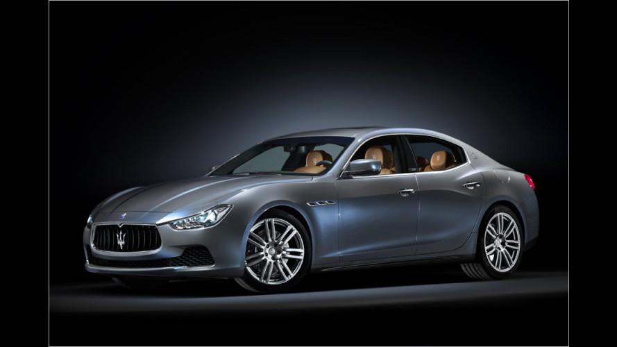 Maserati Ghibli: Zegna-Maßanzug