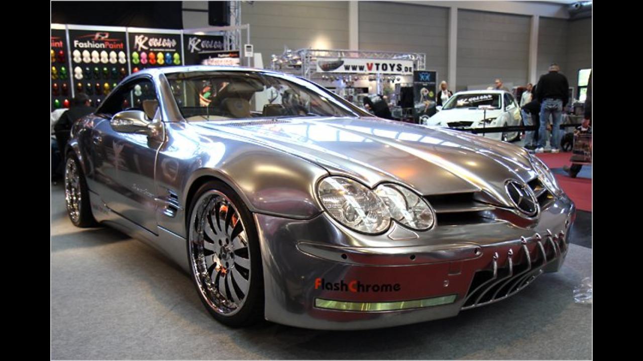 Silver Star Mercedes SL