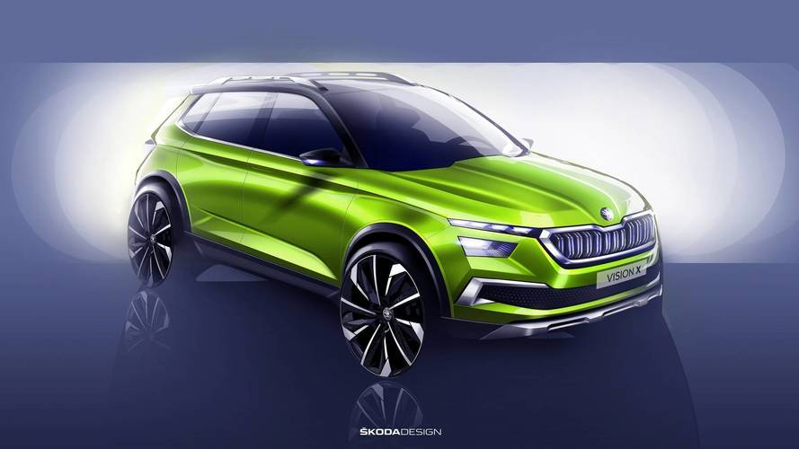 Geneva Motor Show 2018: Skoda hints at hybrid future with Vision X