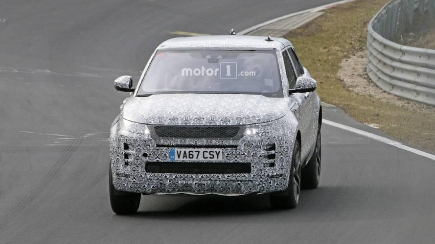 2019 Range Rover Evoque Nurburgring'de görüntülendi