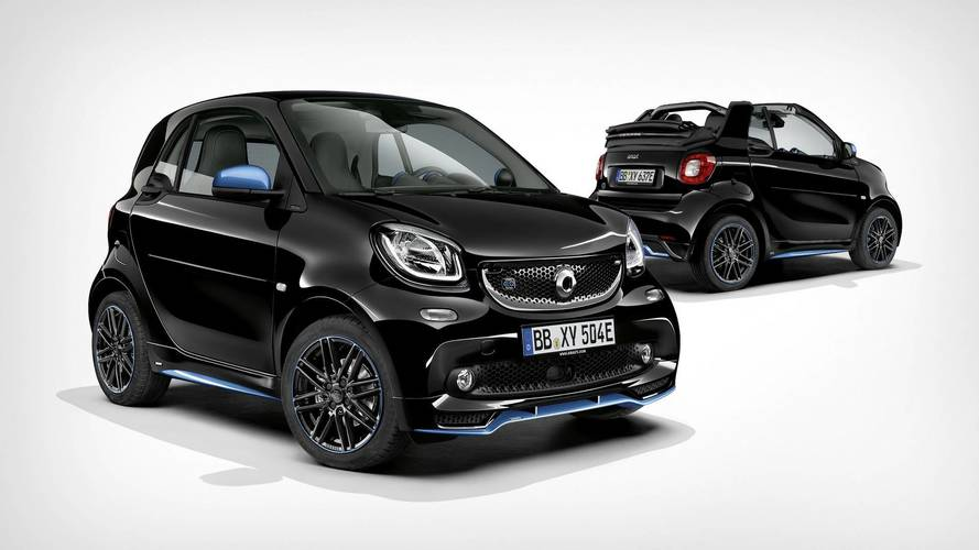 Smart EQ fortwo is the first EQ model from Mercedes-Benz
