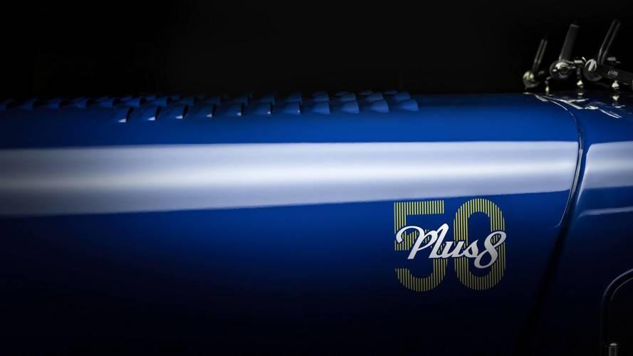 Morgan Plus 8 50th Anniversary Edition teasers