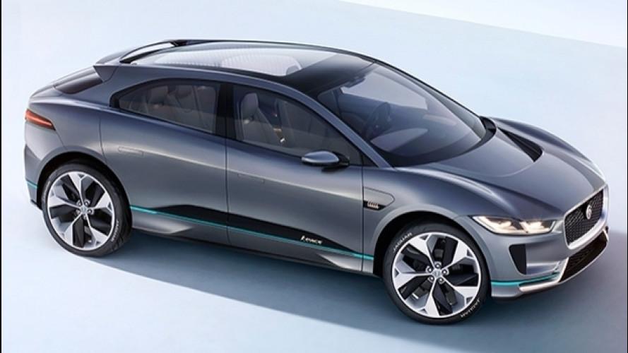 Jaguar I-Pace, prove di SUV elettrico sportivo [VIDEO]