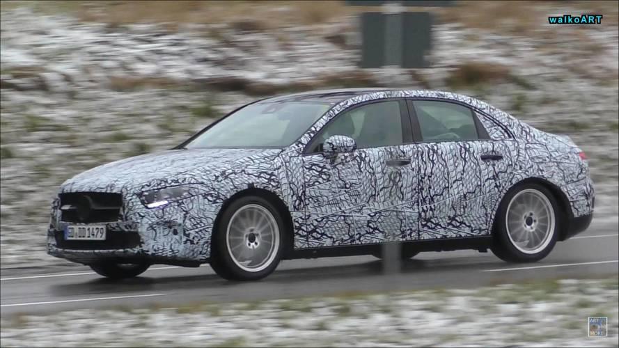 Mercedes A-Serisi Sedan, Hatchback ve CLA kameralara takıldı