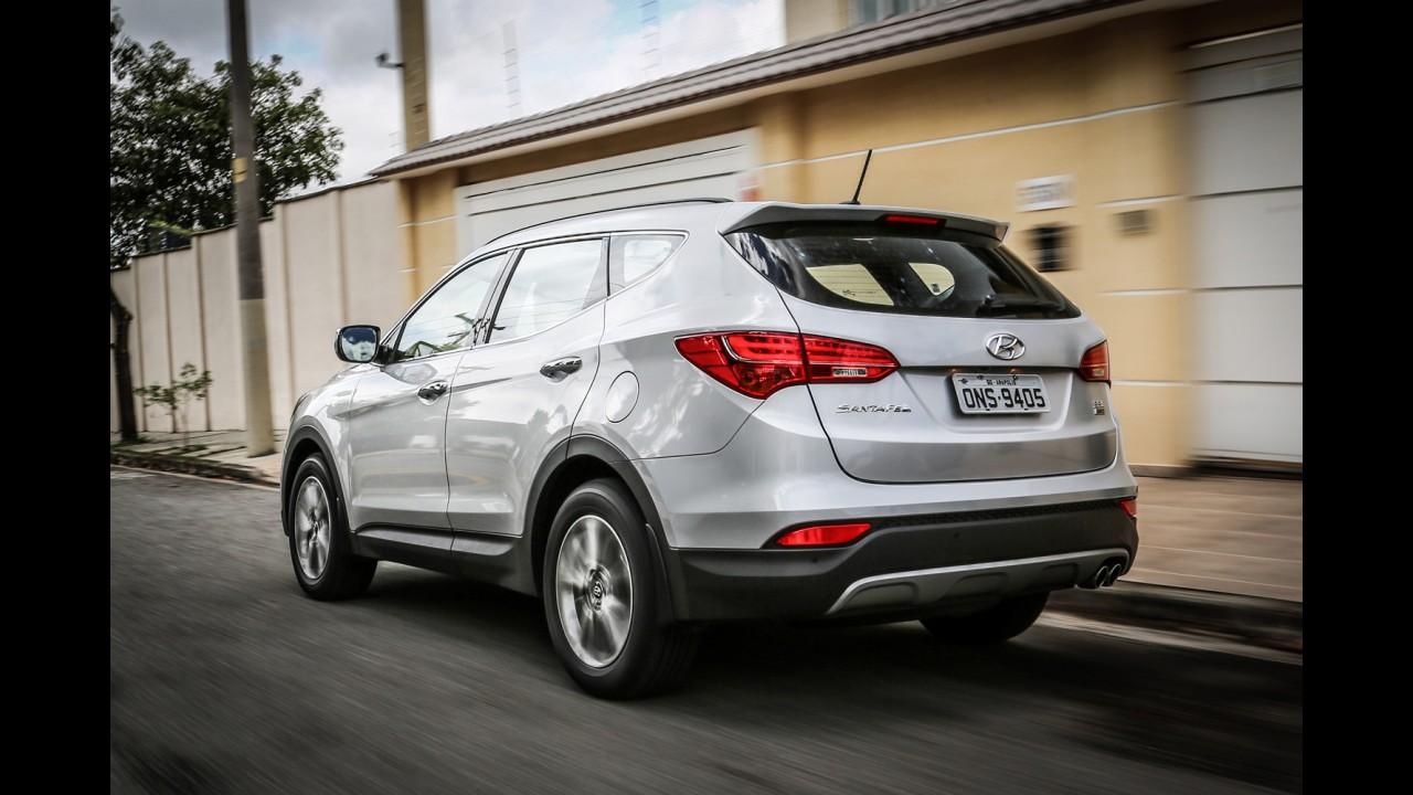 Hyundai CAOA deve produzir Santa Fe no Brasil ainda neste ano
