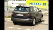 Projeções e flagras do novo Mercedes ML 2012 surgem na rede