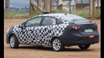 Novo Fiesta Sedan 2011 - Nova geração camuflada é flagrada novamente no Brasil