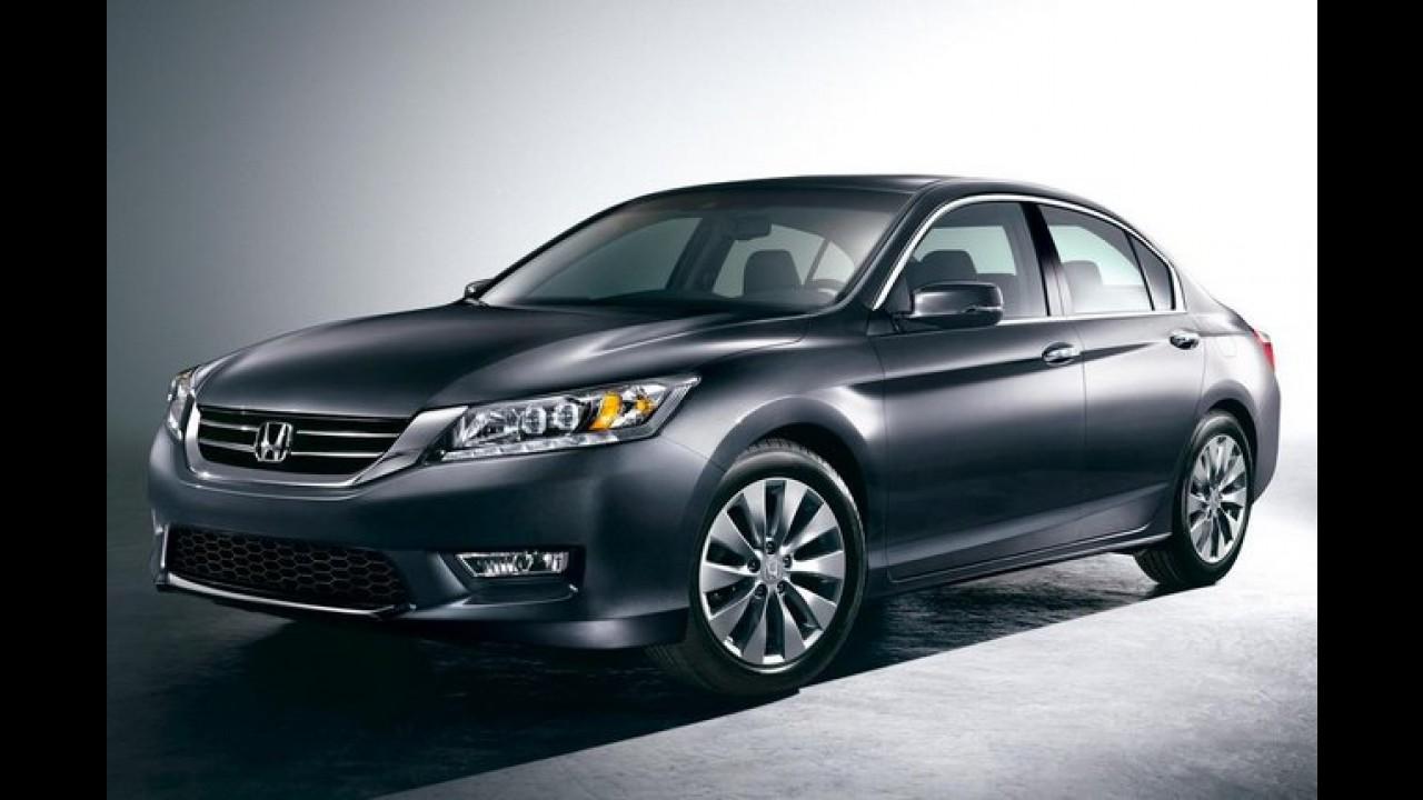 Honda inicia produção da nova geração do Accord nos Estados Unidos