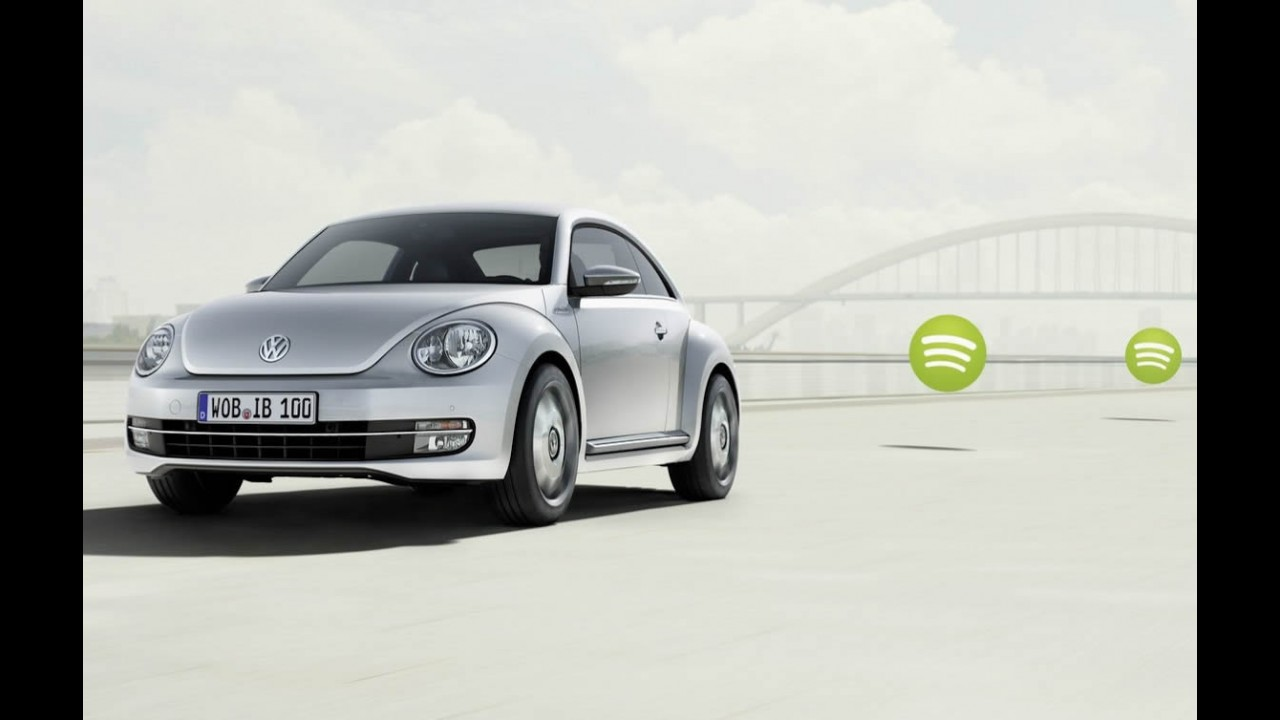 "Volkswagen mostra iBeetle, versão ""integrada"" ao iPhone"