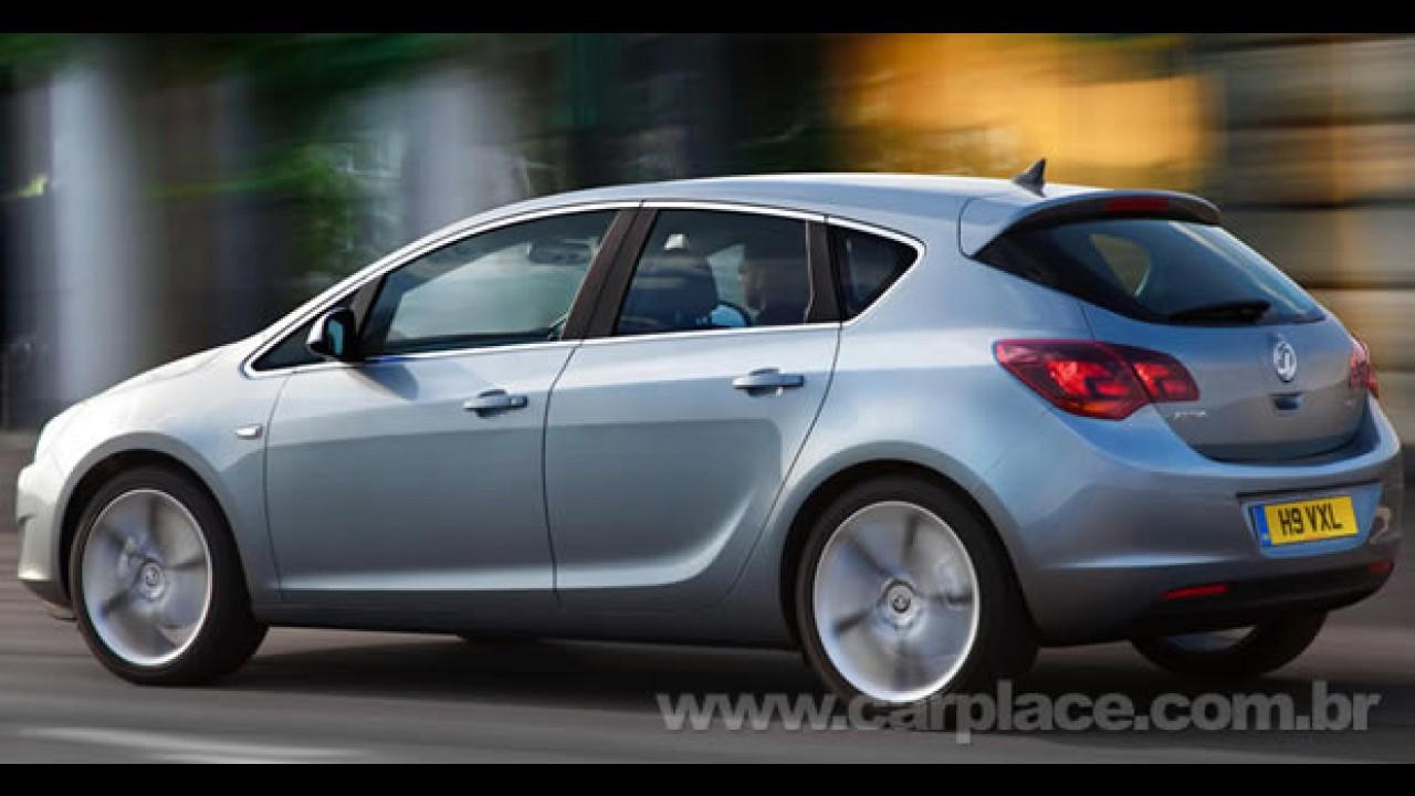 Este é o Novo Opel Astra 2010 - Fotos oficiais e detalhes do hatch europeu são divulgados