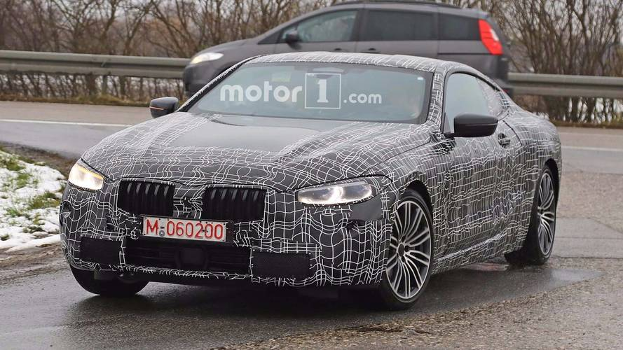 BMW 8 Series Spied Wearing Different Camo