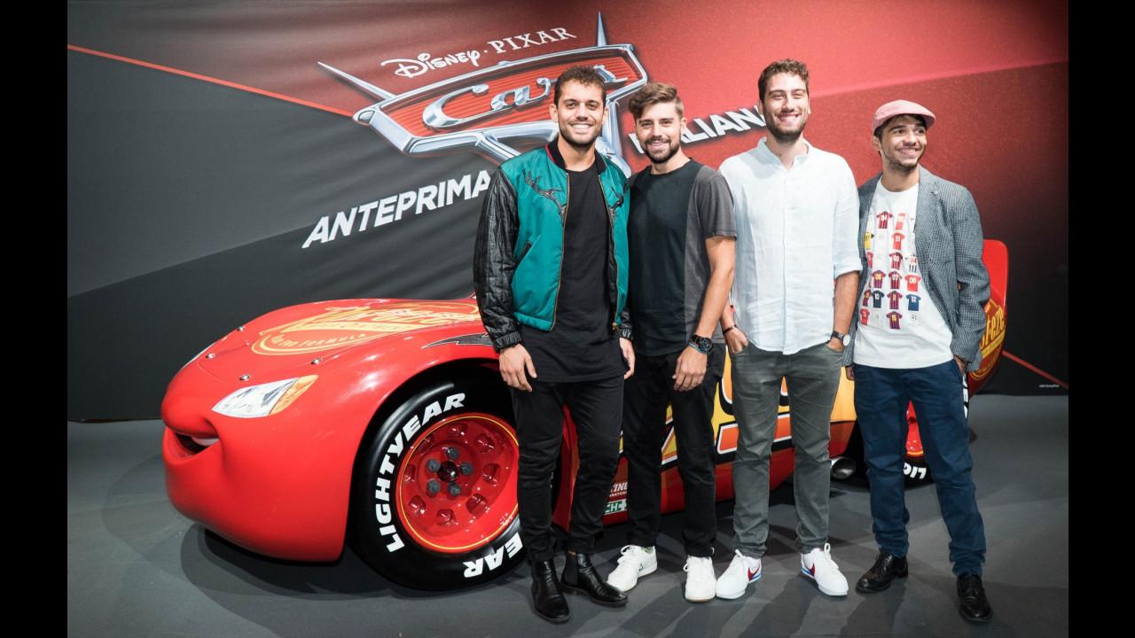 Cars 3, la serata VIP all'anteprima milanese