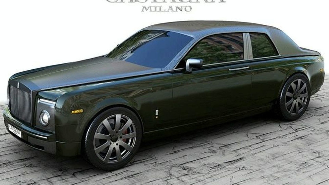 Castagna Milano Rolls Royce Coupe