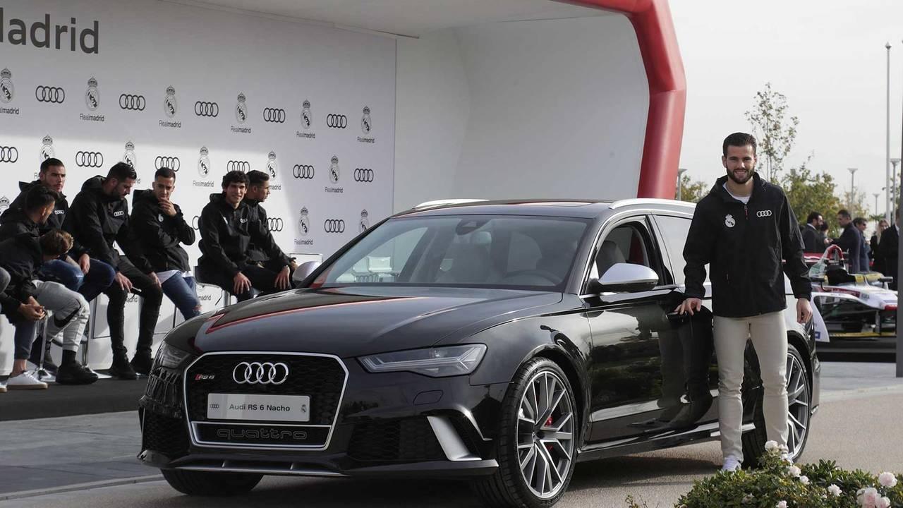 Nacho Fernández (#6) - Audi RS 6 Avant performance
