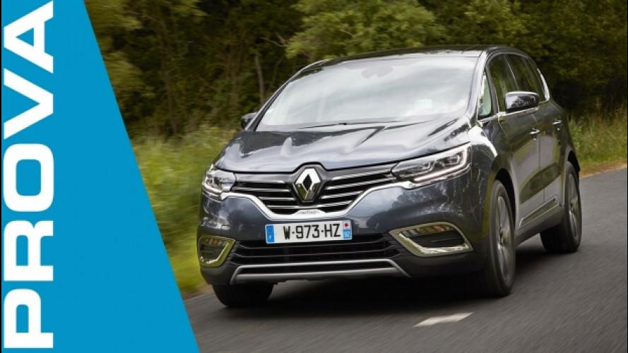 Renault Espace, più potente con il nuovo turbo benzina
