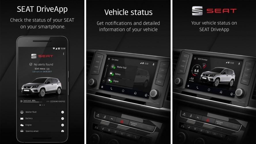 Seat DriveApp, l'app per il controllo a distanza