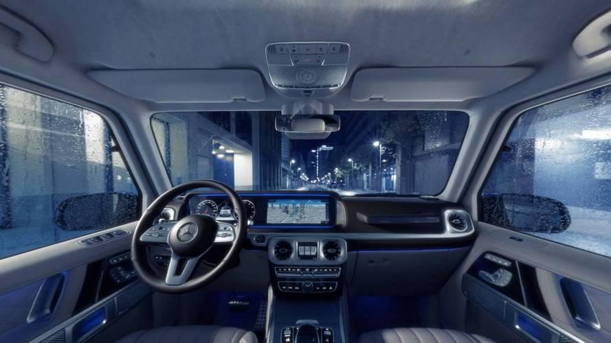 2019 Mercedes G-Class interior