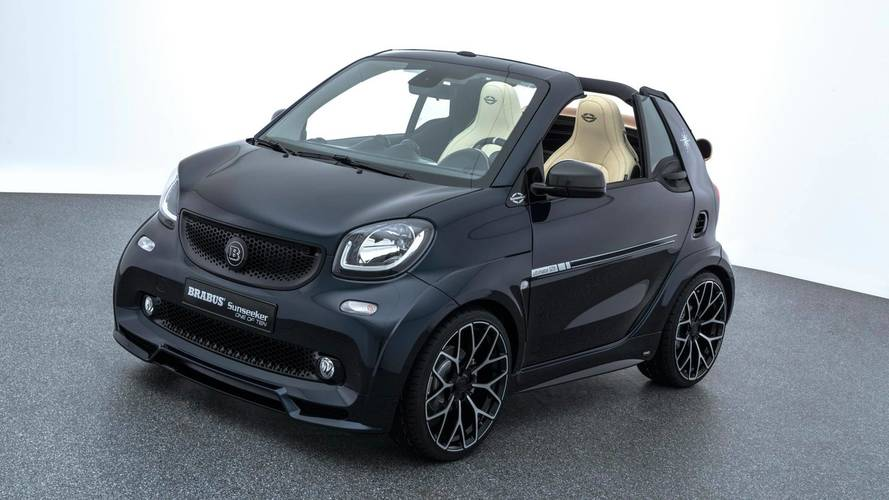 Yacht-Inspired Brabus ForTwo Costs Mercedes-AMG C43 Money