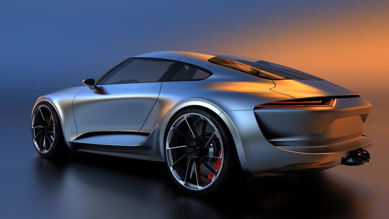Bugatti Chiron Designer Re Imagines The Porsche 911