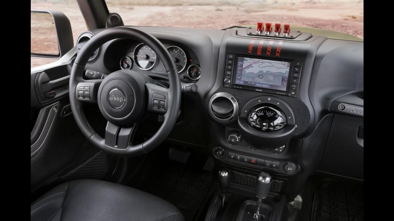 Jeep Crew Chief Concept antecipa picape derivada do Wrangler
