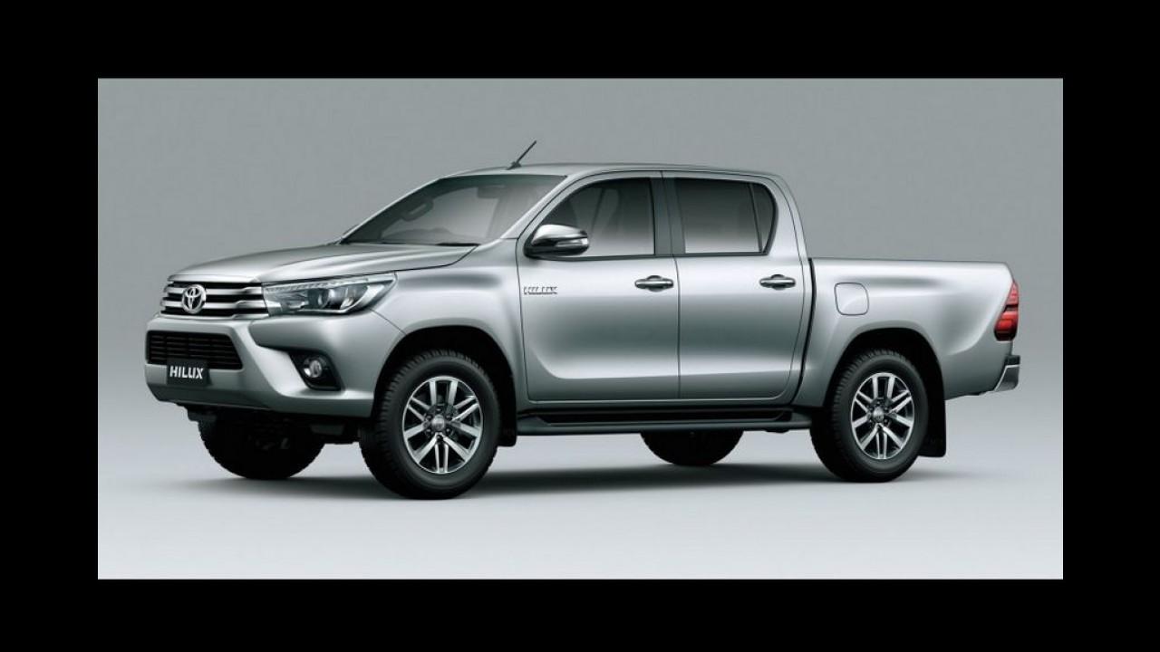 Veja mais detalhes da Toyota Hilux 2016 em nova galeria de fotos