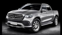 Informes da picape Mercedes: três versões, kit AMG e batismo