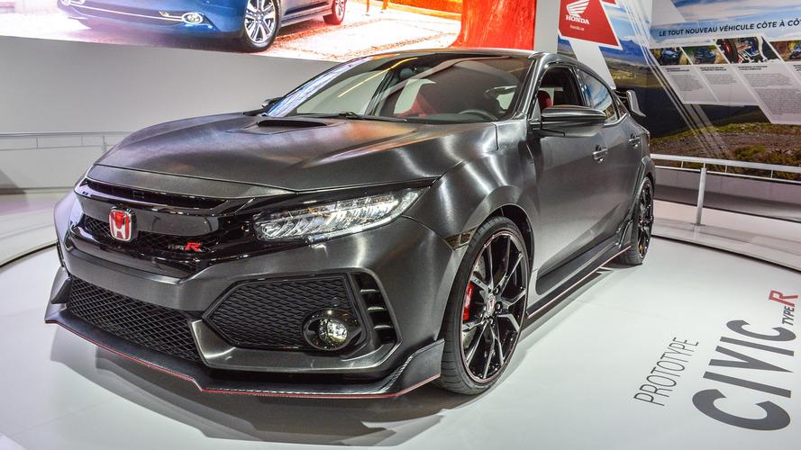 Honda Civic Type R prototipi - Montreal Otomobil Fuarı
