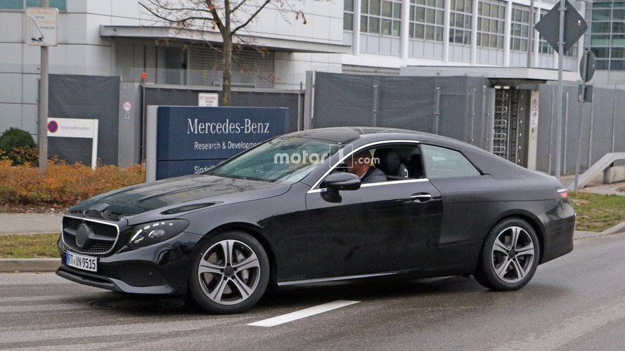 E400 Coupe 2018 >> 2018 Mercedes E-Class Coupe caught performing final testing