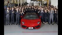 Lamborghini Aventador supera Murciélago e alcança 5 mil unidades produzidas