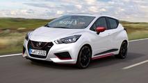 Nissan Micra Nismo render