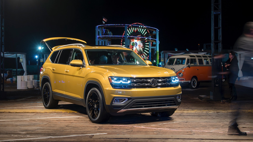 VW Rusya'da satacağı Atlas'larda dizel seçeneği de sunacak