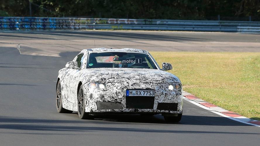 Toyota Supra Spy Pics at Nurburgring