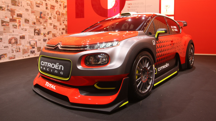 Citroën C3 WRC Concept - Découvrez-la en détails et en photos