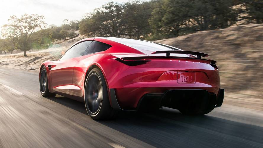Watch New Tesla Roadster Accelerate Lightning Quick In Maximum Plaid Mode