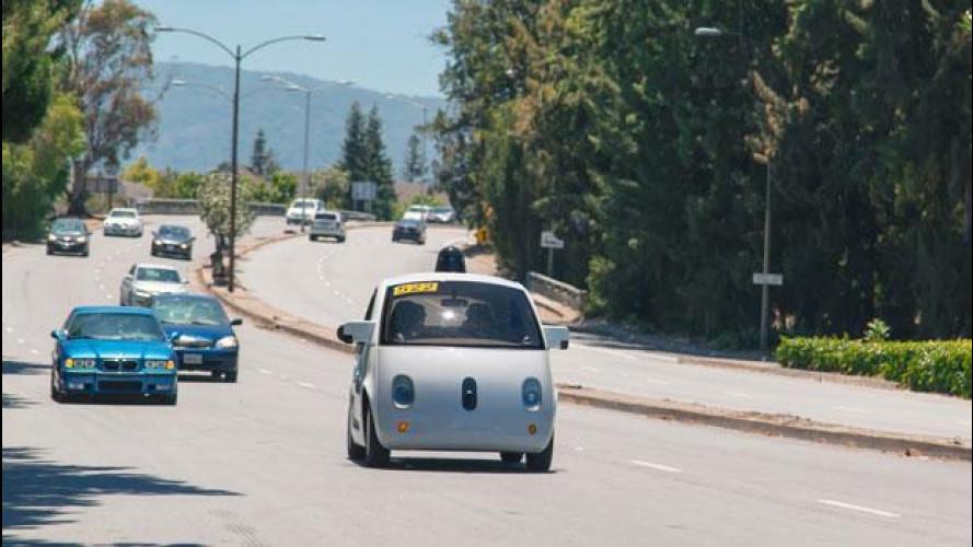 La Google Car è su strada