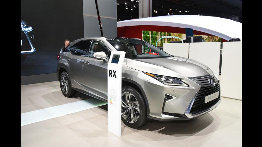 Salone di Francoforte, Lexus è fedele all'ibrido con la RX 450h [VIDEO]