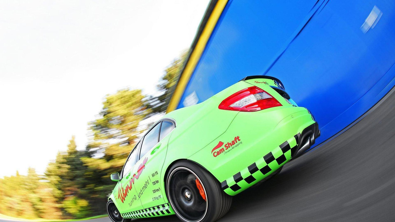 Blue-Green Mercedes-Benz C63 AMG by Wimmer RS - 24.11.2011