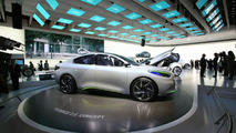 Renault Fluence Zero Emission Z.E. Concept live in Frankfurt