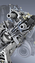 New Mercedes-Benz 4.6 liter V8 engine 07.05.2010