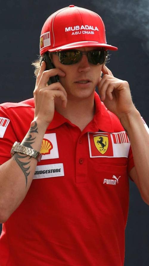 Raikkonen has not called injured Massa