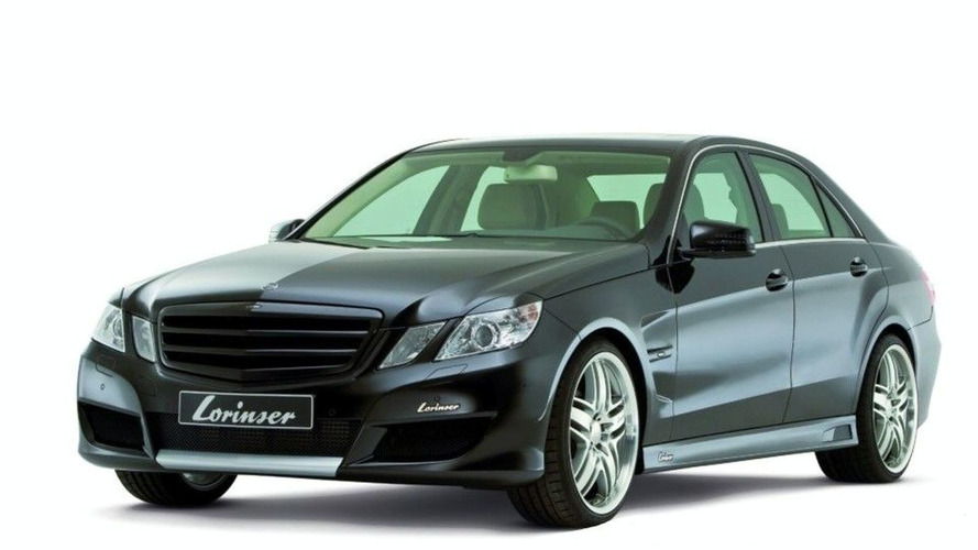 Lorinser New E-Class Sedan and Coupe Images Leaked