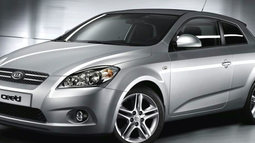 Kia Cee'd Three-Door Image Preview