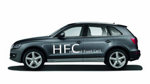 Audi Q5 Hybrid Fuel Cell technical study revealed at Michelin Challenge Bibendum