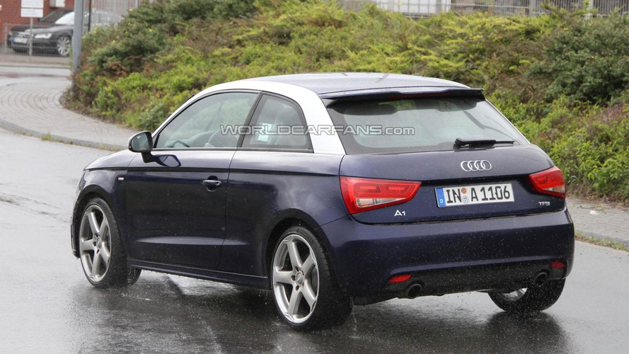 Audi S1 spied near the Nürburgring
